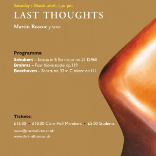 Last Thoughts poster