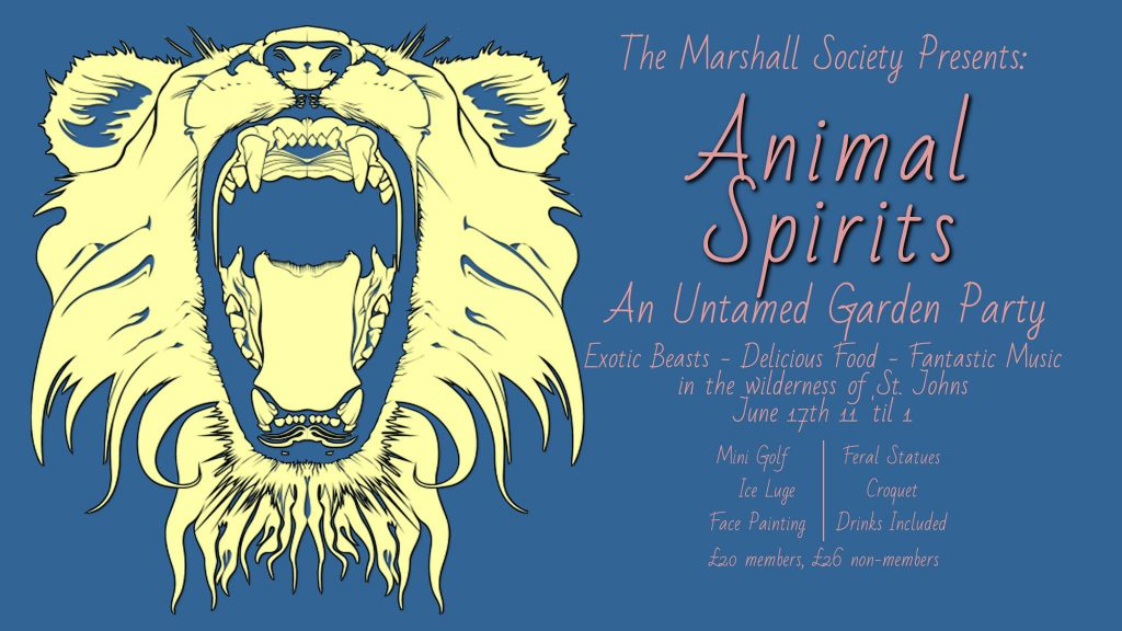 Marshall Society Animal Spirits